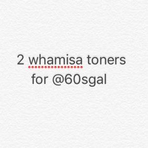 2 whamisa toners
